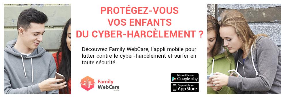 Notre nouvelle appli anti cyber harcèlement